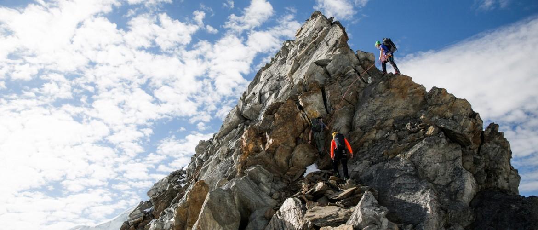 Klettern auf die höchsten Berge Österreichs mit der Alpinschule Rock 'n Roll