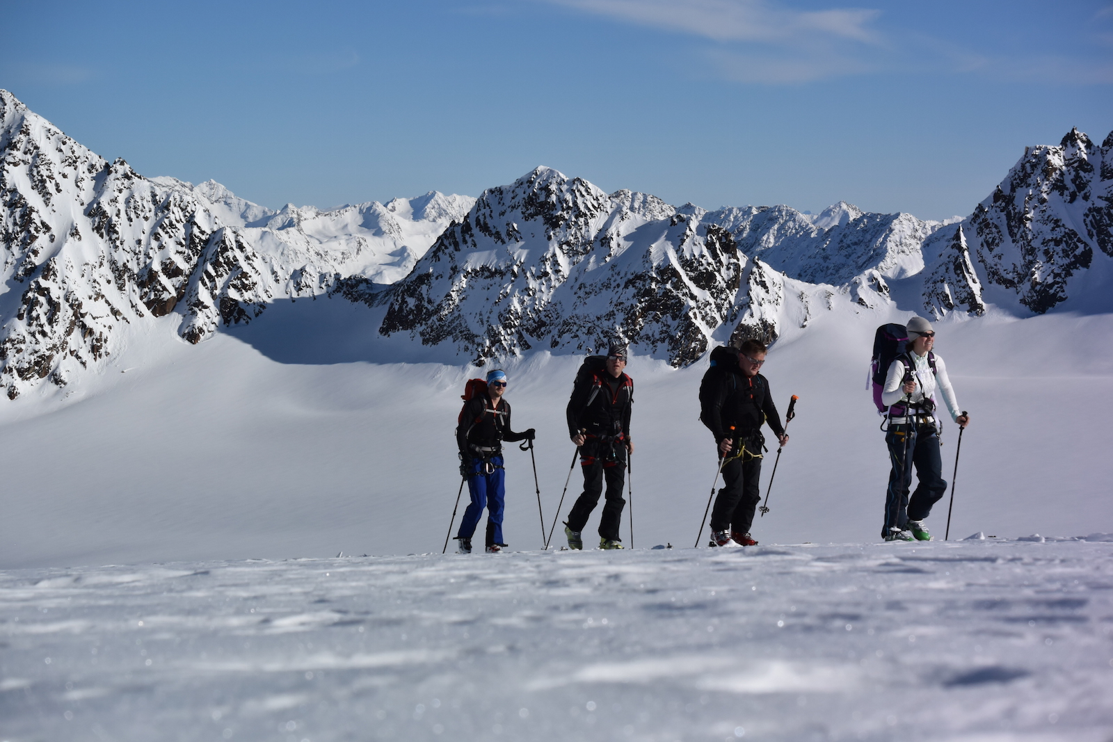 Auf Ski Hochtour mit der Alpinschule Rock 'n Roll
