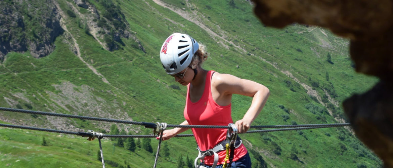 Wunderschöne Klettersteige in den Kitzbüheler Alpen