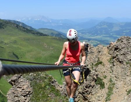 Klettersteigtouren Kitzbüheler Alpen