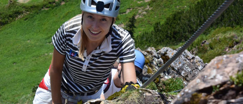 Klettersteig Schnuppertag mit der Alpinschule Rock 'n Roll