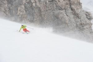Auch auf Ski-Hochtour gibt es fette Abfahrten mit der Alpinschule Rock 'n Roll