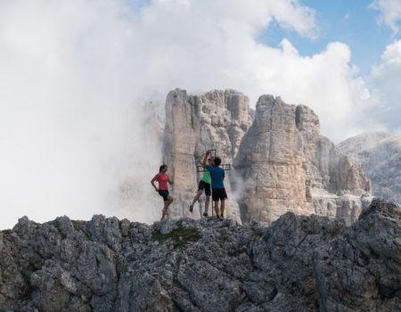 Traumklettersteige in den Dolomiten