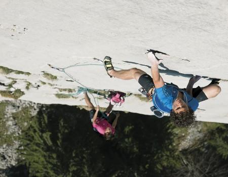 Alpinklettern '  in den Dolomiten