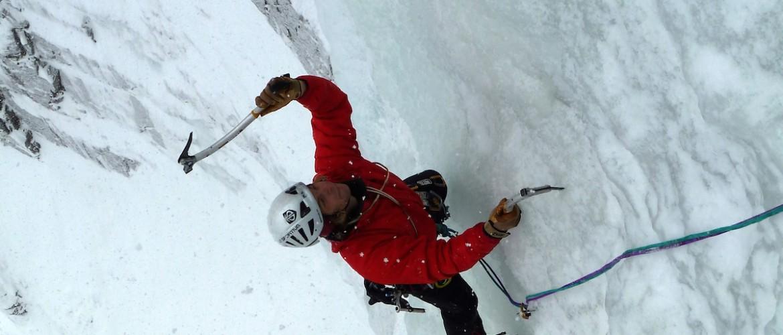 Eiskletter Schnupperkurs mit der Alpinschule Rock 'n Roll
