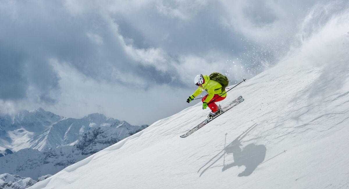 Powder Action de luxe mit der Alpinschule Rock 'n Roll