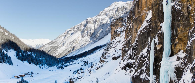 Eiskletter Führungen mit der Alpinschule Rock 'n Roll