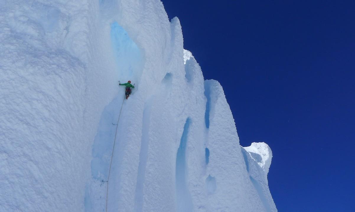 Eisklettern mit der Alpinschule Rock 'n Roll