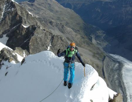Piz Bernina Bianco Grat