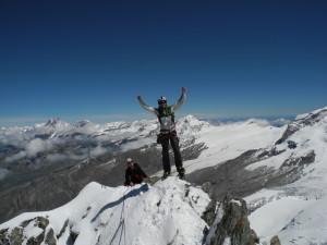 Am Matterhorn mit der Alpinschule Rock 'n Roll