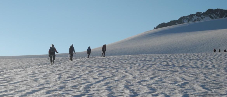 Alpine Tour auf den Großvenedier mit der Alpinschule Rock 'n Roll