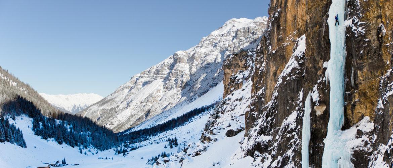 Eisklettern Tirol Pinnistal Kerze (c) Alpsolut