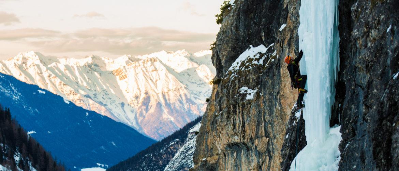 Eisklettern Tirol Pinnistal Klein aber Fein (c) Alpsolut