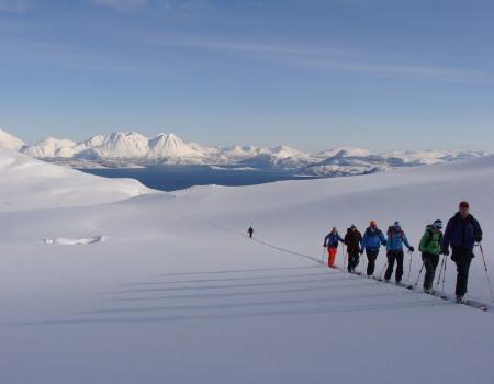 Skitourenreise Lyngen / Norwegen