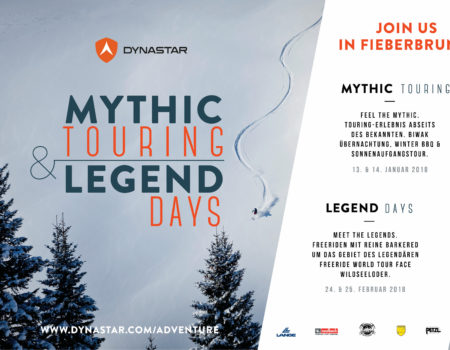 Dynastar Mythic Touring&Legend Days Jänner 2018