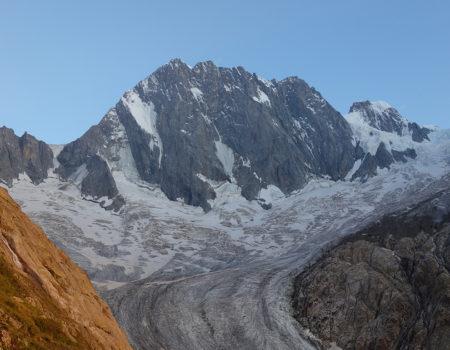 Grandes Jorasses (4.208m) – Walkerpfeiler