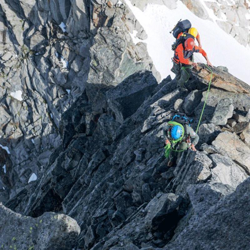 Bergsteigen am Großglockner über den Südgrat mit der Alpinschule Rock'n'Roll