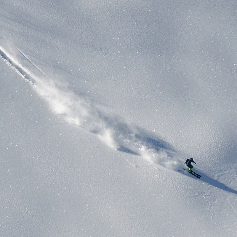Powder in den Kitzbüheler Alpen mit der Alpinschule Rock 'n Roll