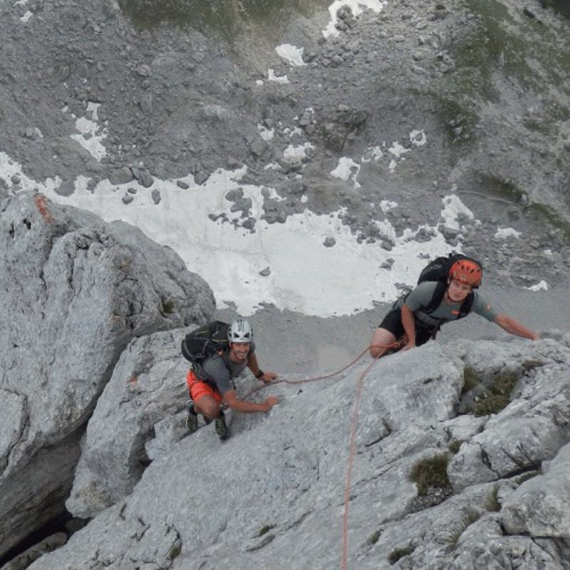 Klettertour Wilder Kaiser