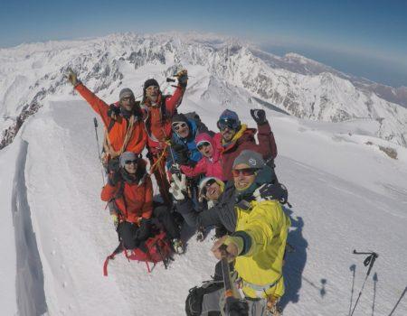 Skitourenreise Kazbek / Georgien