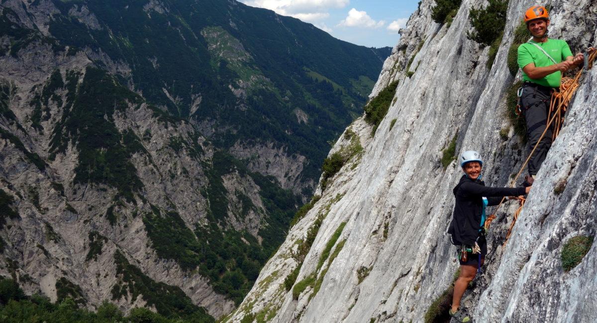 Alpinkletterkurs Stripsenjoch Wilder Kaiser (1)