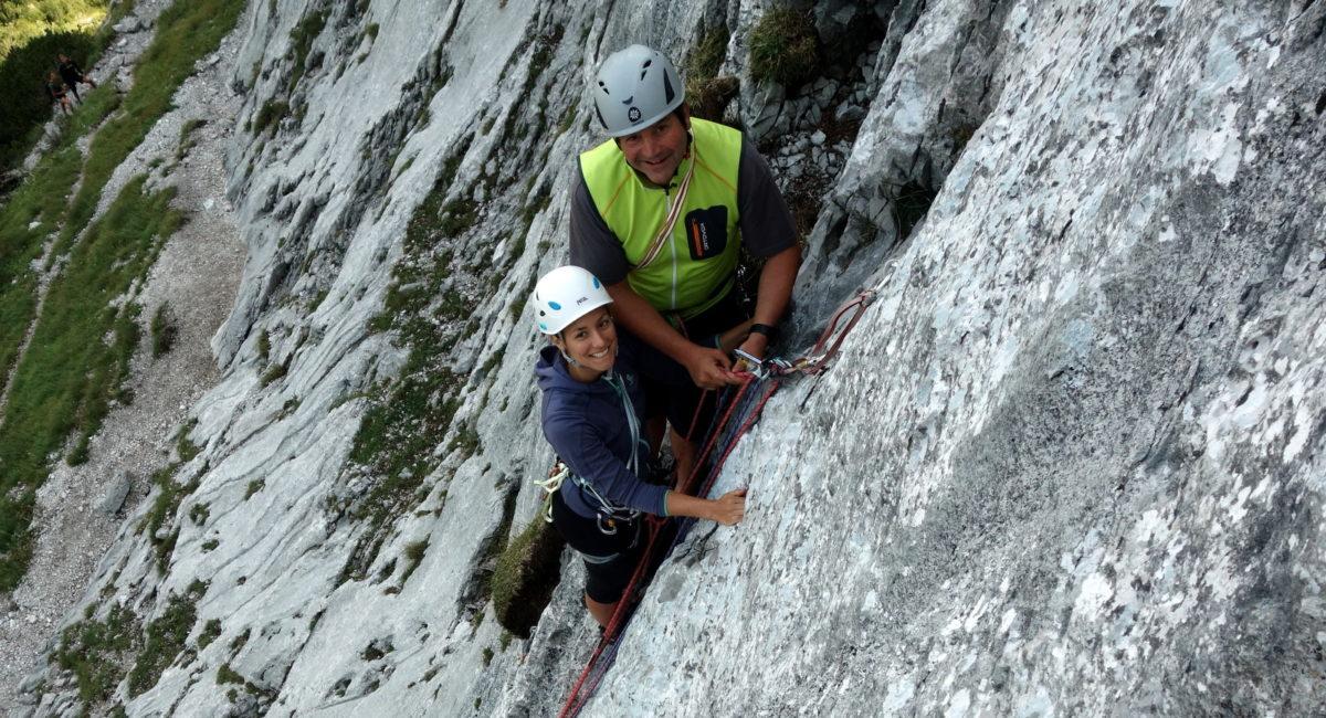 Alpinkletterkurs Stripsenjoch Wilder Kaiser (3)