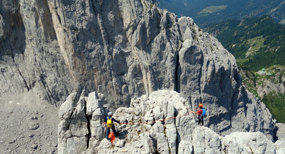 Alpinkletterkurs Stripsenjoch Wilder Kaiser (5)
