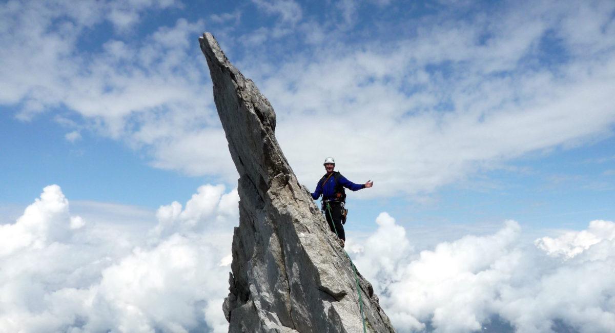 Bergell Klettern Sciora Dafora