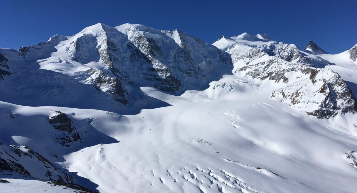 Biancograt und Piz Palü - Piz Palü