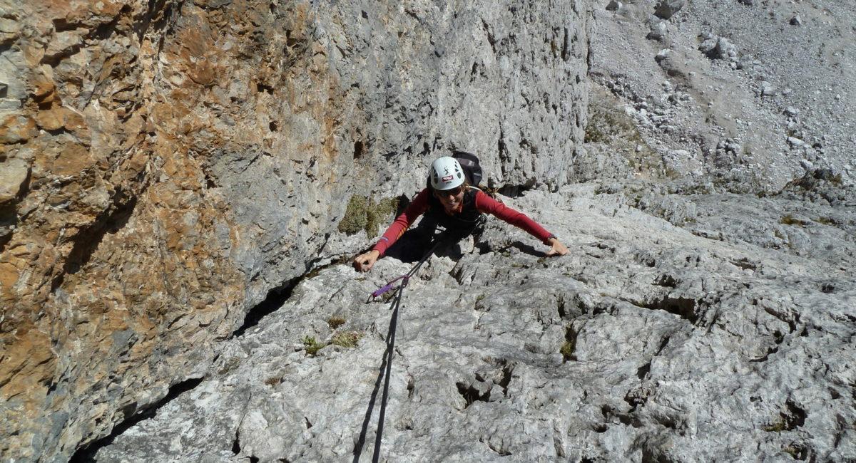 Cortina d'Ampezzo - erster Tofanapfeiler