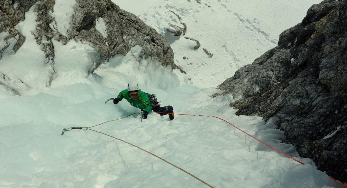 Eisklettern Dolomiten Sella2