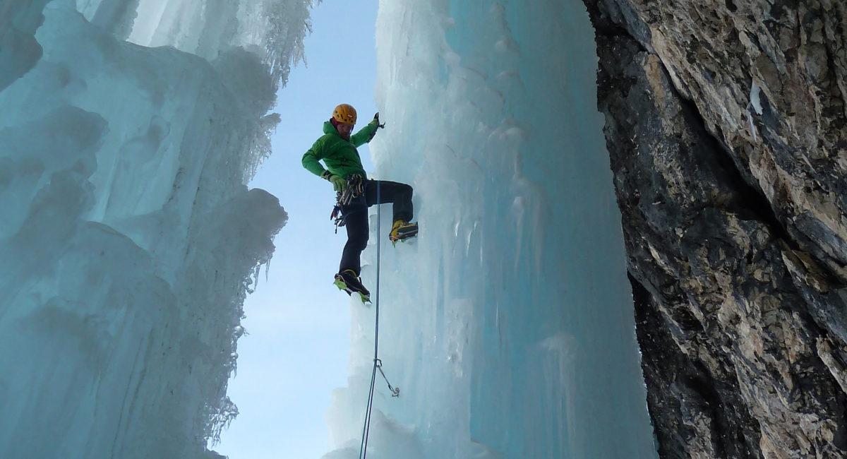 Eisklettern Dolomiten Val Travenanzes