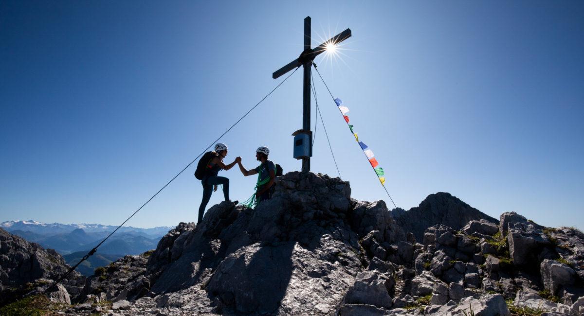 Goinger Halt Nordgrat - Gipfel