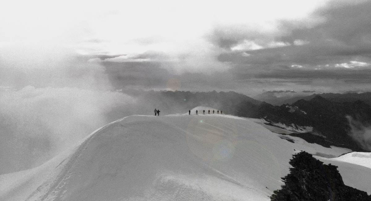 Großvenediger Gipfelgrat