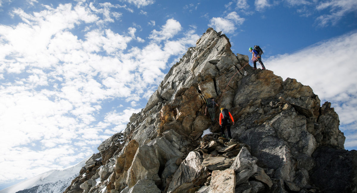 Großvenediger Nordgrat Klettern