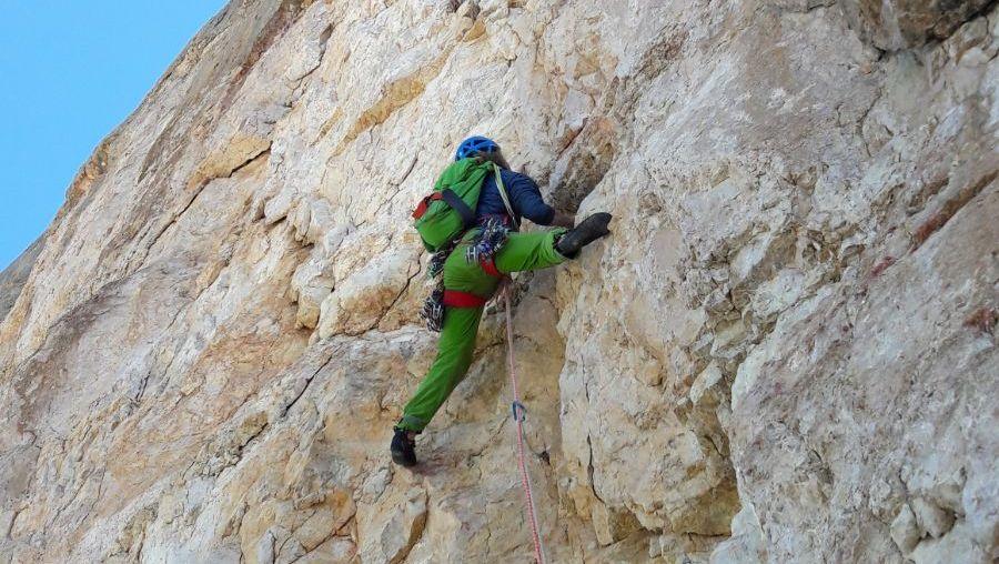 Heiligkreuzkofel Dolomiten_Große Mauer (5)