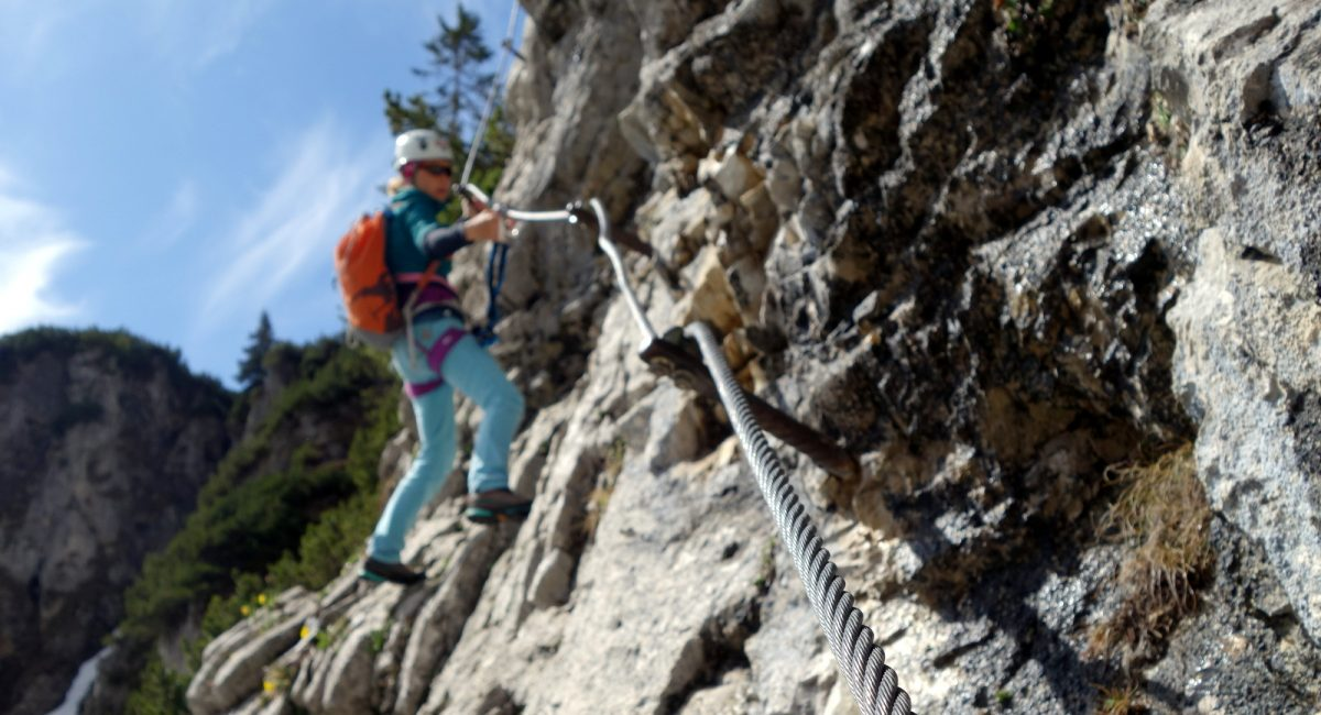 Klettersteig Klamml (3)