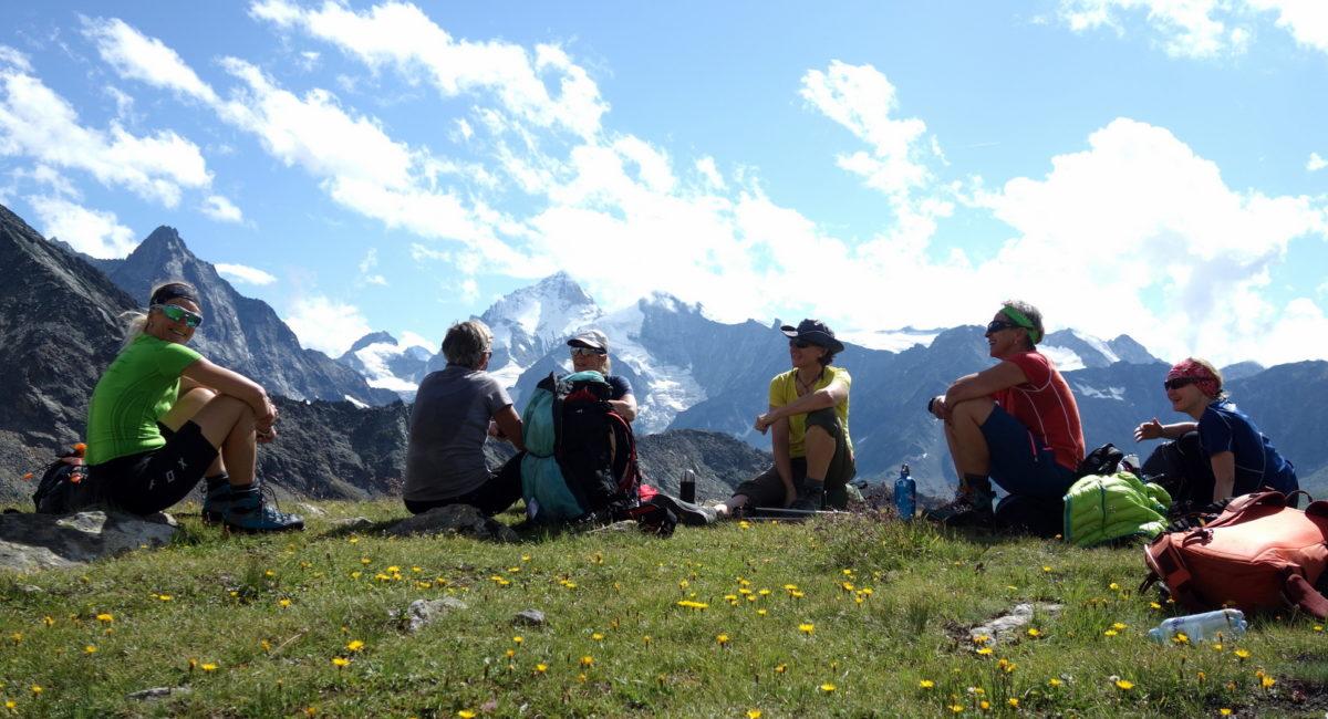 Leichte 4000er Wallis - Tracuit Hütte