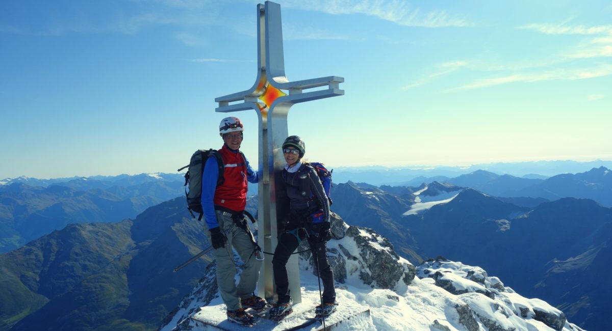 Ortler Hintergrat - Gipfel