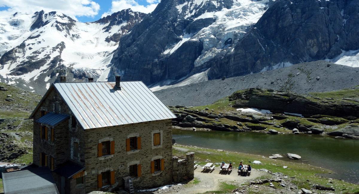 Ortler Hintergrat - Hintergrathütte