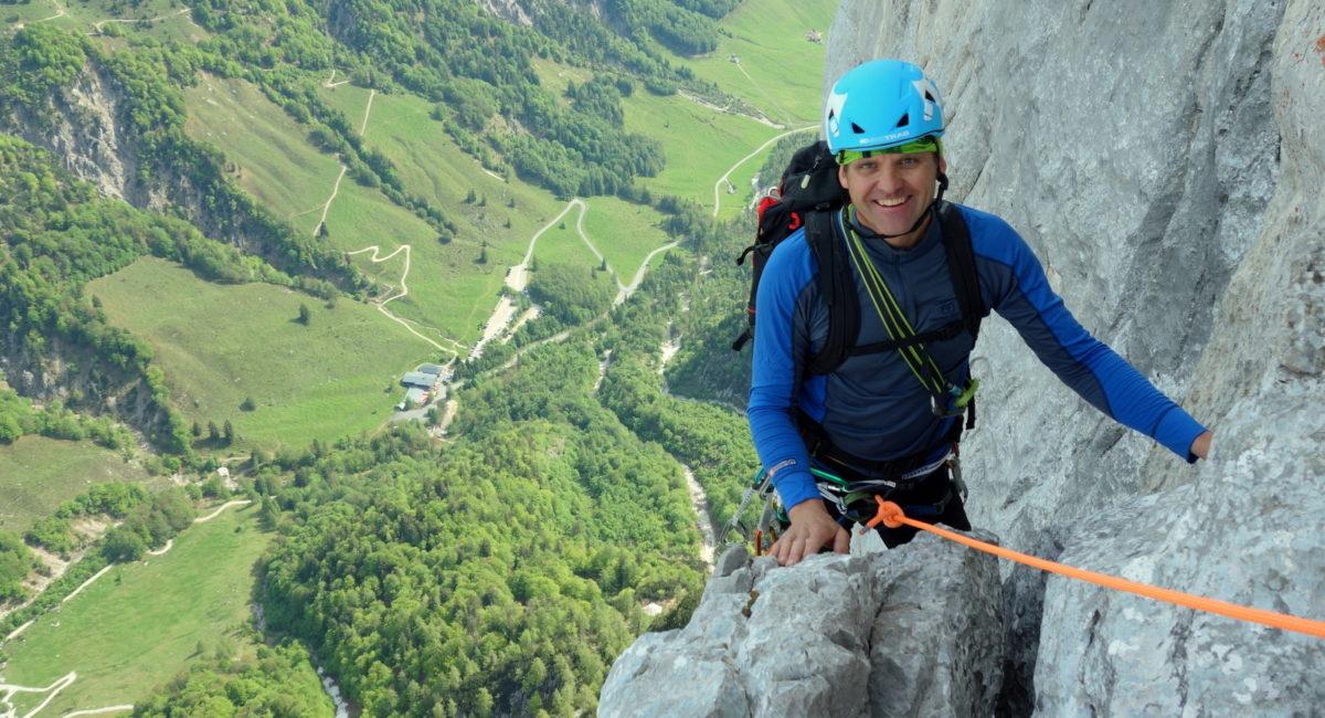 Predigtstuhl Nordkante - Klettern