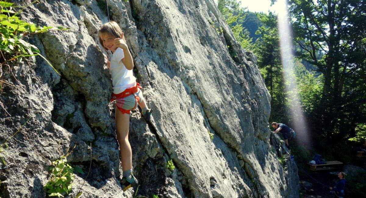 Sicher Klettern - Gamsfelsen