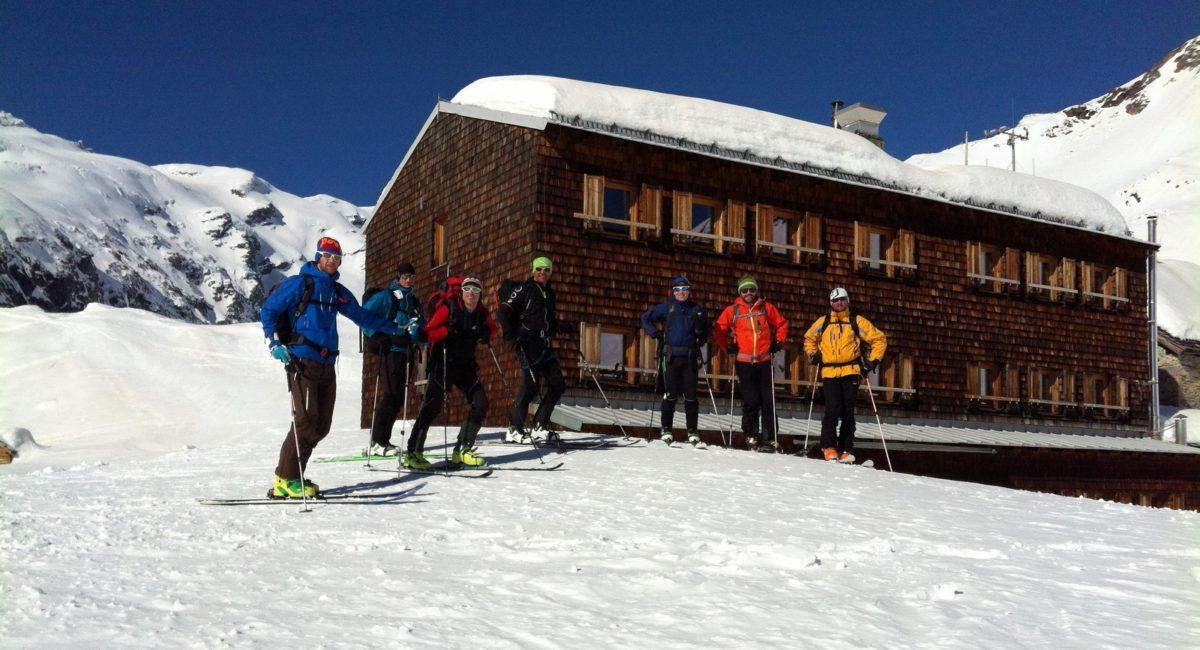 Skitouren Essener Rostocker Hütte (3)