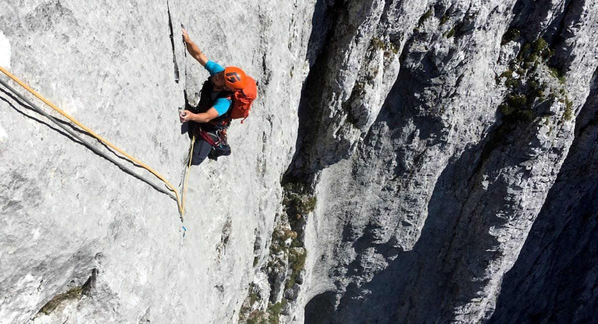 Totenkirchl Westwand Klettern