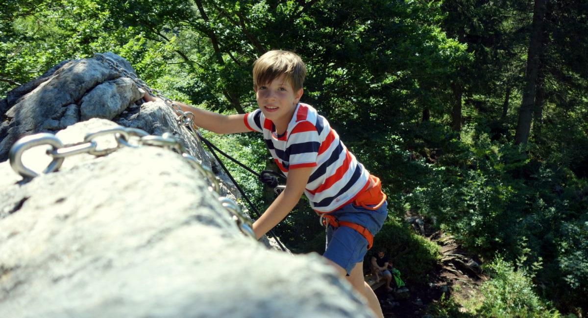 Von der Halle an den Fels - Kids