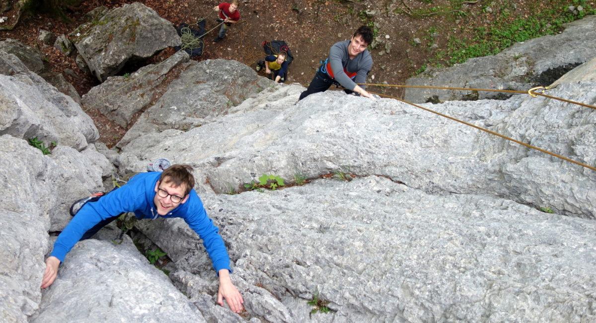 Von der Halle an den Fels - Kurs